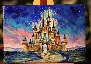 Amazing disney castle painting | Drawing Inspiration ...