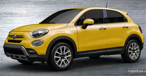 Fiat Usa by Fiat 500x Colors Fiat 500 Usa