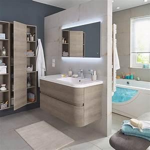 Abat Jour Salle De Bain : salle de bains familiale comment l 39 am nager marie claire ~ Melissatoandfro.com Idées de Décoration