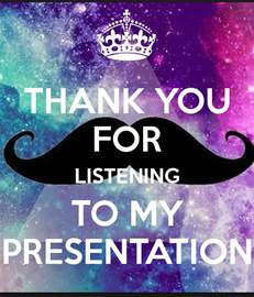 Funny Thank You for Listening to My Presentation