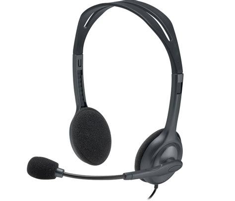 Logitech Headset H 111 Stereo logicool stereo headset h111