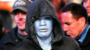 """See Jamie Foxx As Electro On The Set Of """"Amazing Spider ..."""