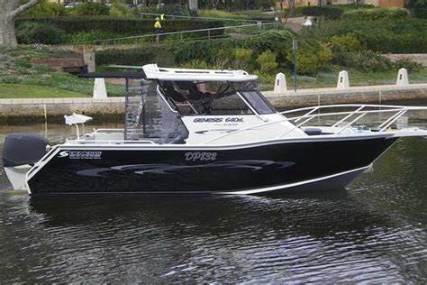 Zodiac Boats For Sale Perth by Genesis Craft Aluminium Boats Perth