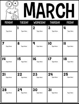 editable calendars lifetime updates monster edition