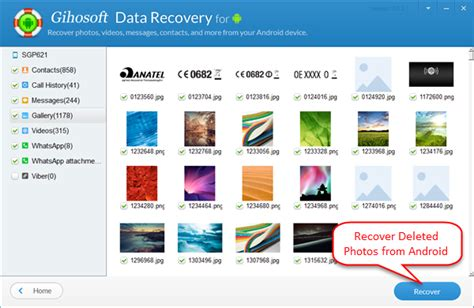 how to recover deleted photos pictures from android devices