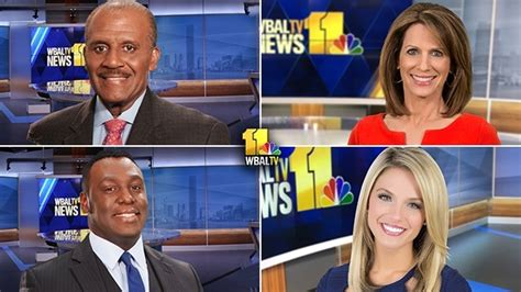 Wbal-tv 11 News Announces New Evening Anchor Teams