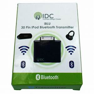 White Bluetooth Adapter Dongle For Ipod Nano Classic Touch