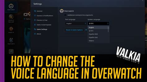 Quick Guide How To Change Spoken Voice Language In
