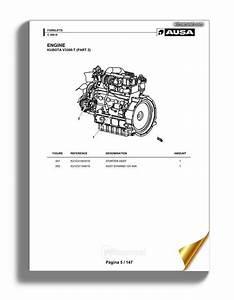 Mitsubishi L3a L3c L3e Engine Parts Catalog