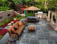 great deck and patio design ideas Awesome patio with grill and firepit - Interior Design Ideas
