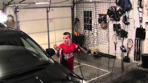 garage hitting net youtube