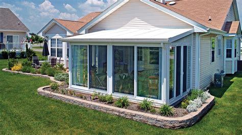sun room cheaper   addition aronson awning