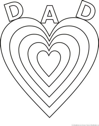 love  dad fathers day coloring pages  kids  christian wallpapers