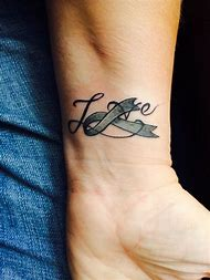 Best Cancer Ribbon Tattoo - ideas and images on Bing | Find what you ...
