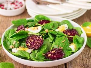 Spinat Als Salat : spinat salat mit ei und rote bete ~ Orissabook.com Haus und Dekorationen