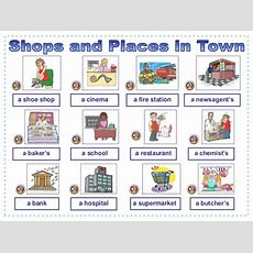 Shops And Places In Town Listening Comprehension