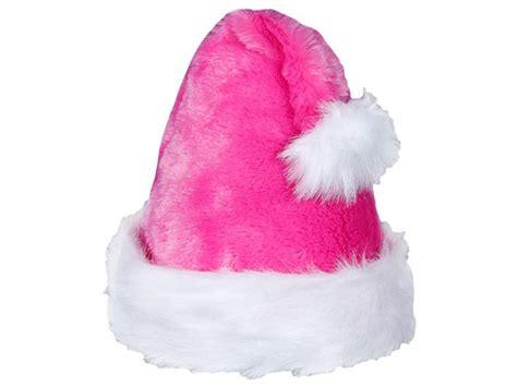 pink santa hats tag hats