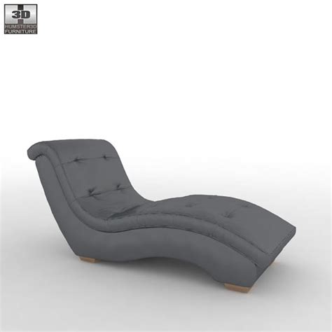 chaise metro metro chaise lounge sofa 3d model hum3d