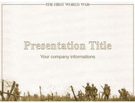 world war  military powerpoint template