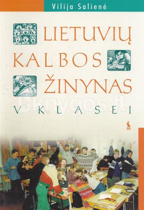 Lietuvių kalbos žinynas V klasei   Knygos.lt