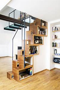 under stair shelves and storage space ideas under the With interior design ideas space under stairs