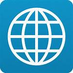 Icon Globe Web Internet Connection Earth Browser