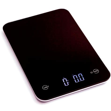 black professional digital kitchen scale tempered glass measurements units 654367086018 ebay
