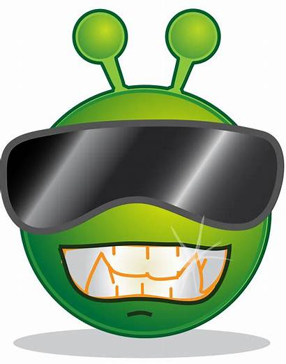 Cool Svg Alien Smiley Clipart Sorry Cartoon
