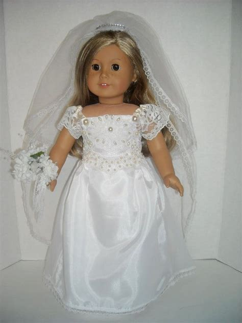 images  american girl doll wedding dresses