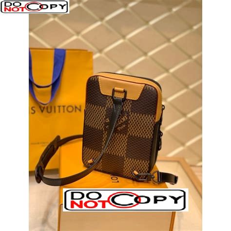 louis vuitton mens amazone sling bag  giant damier ebene canvas