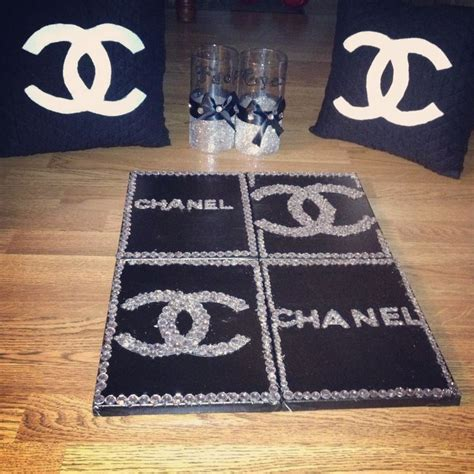 chanel themed bedroom decor my 17 best images about chanel cushion on chanel