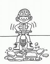 Diggers Bits Squid Coloring Popular sketch template