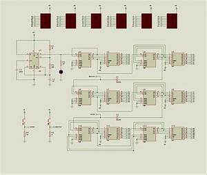 Proteus Isis Digital Circuit Examples
