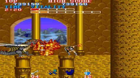 Black Tiger Round 8 End 1987 Capcom Mame Retro Arcade