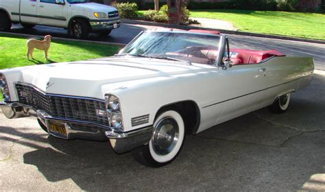 Black Plate Cadillac Deville Convertible For Sale