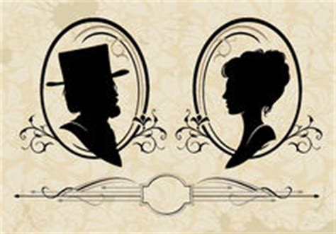 vintage silhouettes royalty free stock photography image 31394327