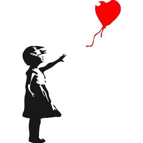 achetez en gros banksy fille rouge ballon en ligne  des