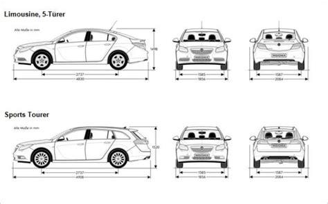 pkw breite und länge katalog opel insignia 2012 technische daten in der 220 bersicht automobilsport