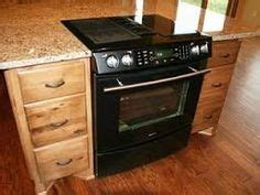kitchen island with slide in stove kitchen island with separate stove top from oven 9453