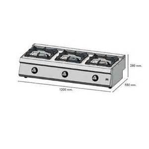 plan de cuisson gaz plan de cuisson 224 gaz 3 feux c3f550s achat vente