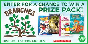 4 Early Chapter Book Giveaway! #ScholasticBranches ...