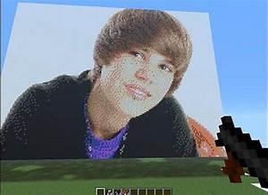 Justin Bieber Minecraft Project