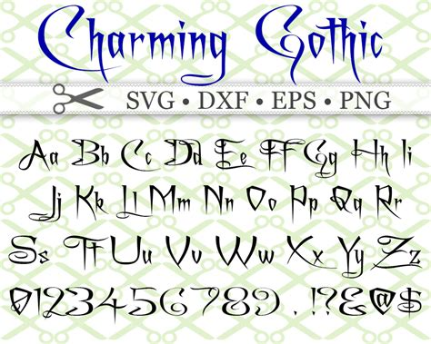 charming font svg font cricut silhouette files svg dxf eps png monogramsvgcom  svg designs