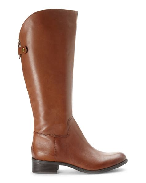 lyst franco sarto acorn cricket riding boots brown