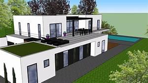 Plans 3d Maison Contemporaine