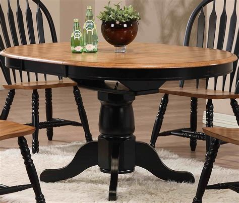 missouri table chair missouri black single pedestal dining table from eci