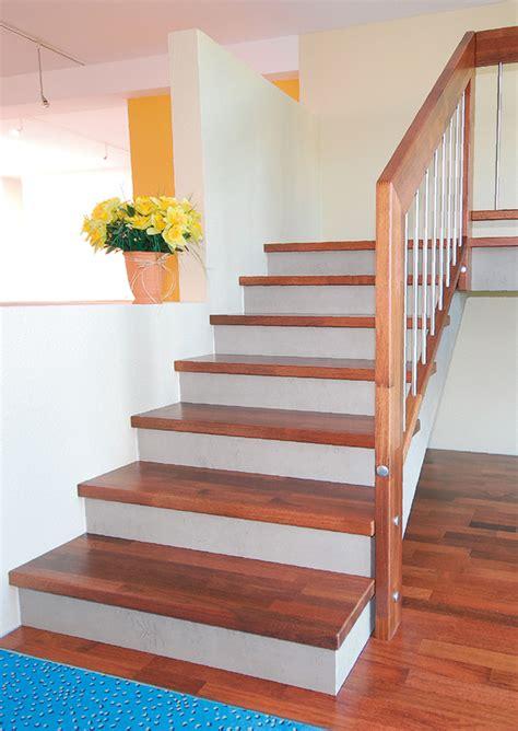 betontreppe mit holzstufen holzstufen auf betontreppe betontreppe mit holzstufen verkleiden bucher treppen das original