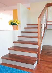 Holzstufen Auf Betontreppe : holzstufen auf betontreppe betontreppe mit holzstufen verkleiden bucher treppen das original ~ Sanjose-hotels-ca.com Haus und Dekorationen