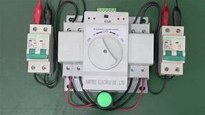 Single Phase Ats Automatic Transfer Switch Manual