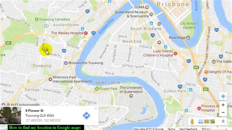How To Find My Location In Google Maps Youtube
